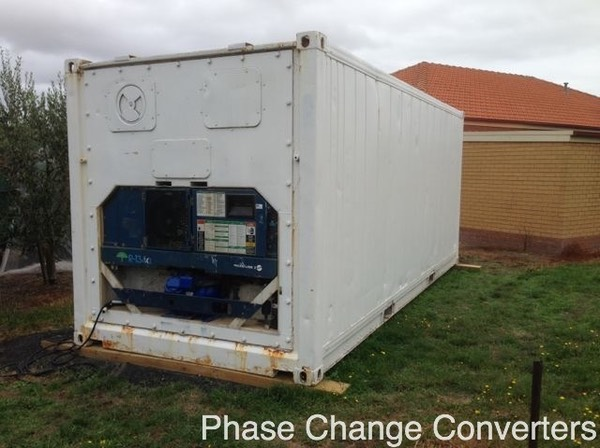 PC8 - refrigerated container at winery